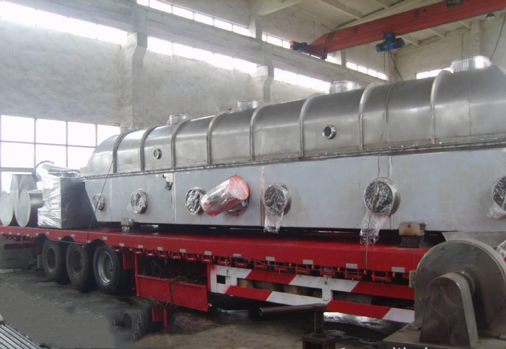 ZLG Horizontal Vibration salt fluid bed dryer sugar dryer lees dryer