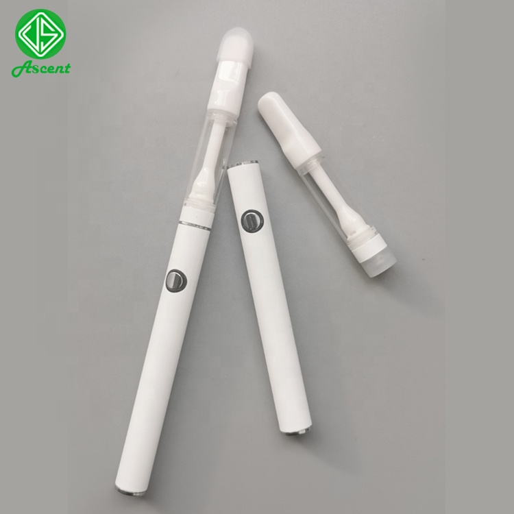 510 foiled white battery bottom charging with variable voltage rechargeable battery for <strong>C101</strong> cartridge all ceramic