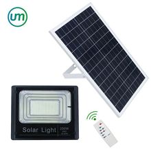 JD-8200 200w IP67 led Solar flood light Outdoor waterproof