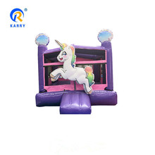 Commercial Rental Use Indoor Outdoor House Unicorn Inflables Jumping Castle Air Moonwalk / Inflatable Bounce Castle