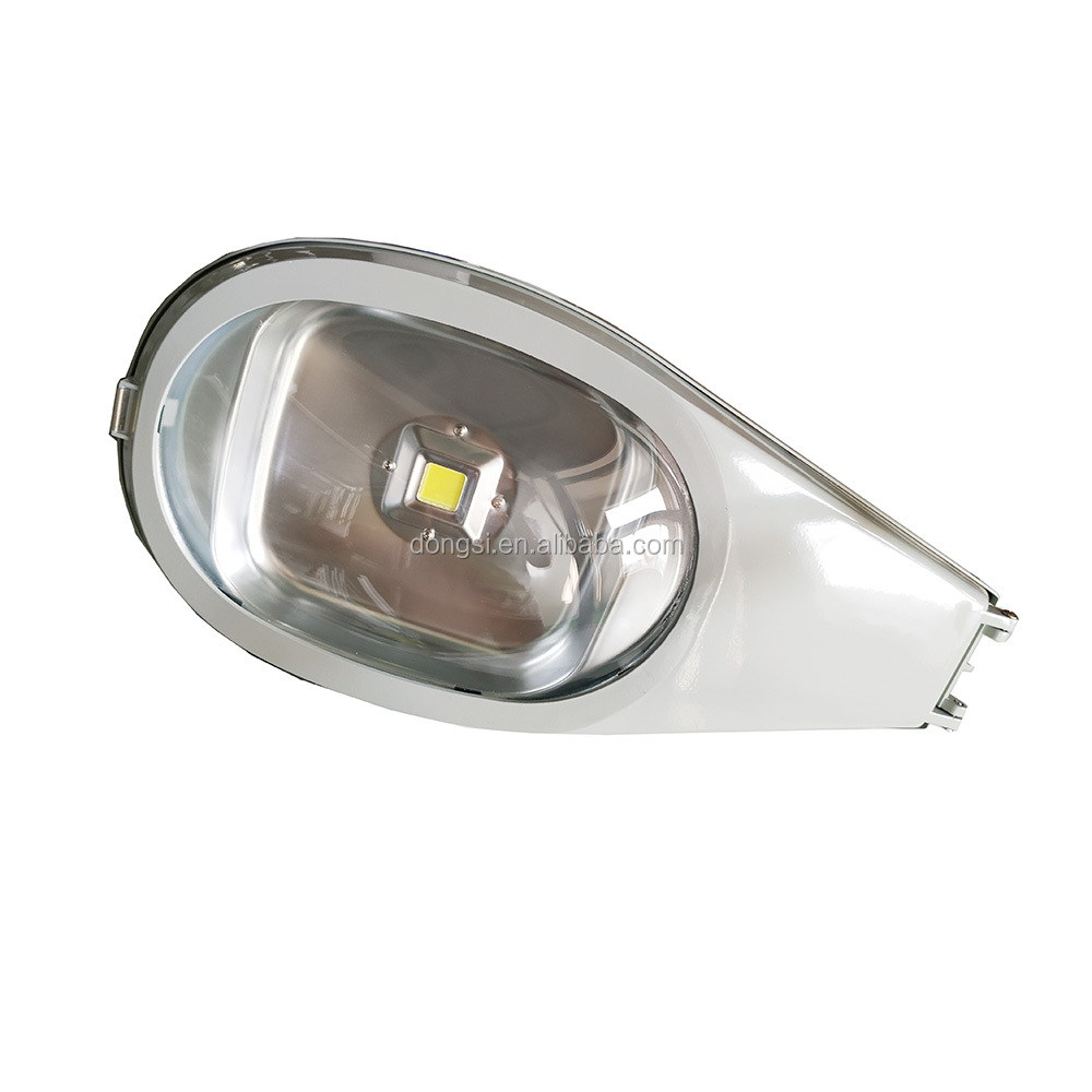 120V Integrated heat-sink LED street light with photocell