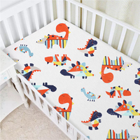 Wholesale Baby Cradle Bassinet Play Playard Fitted Organic Cotton Crib Sheet