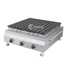 Mexico Popular Commercial Poffertjes Maker <strong>100</strong> Holes Gas Mini Pancake Maker