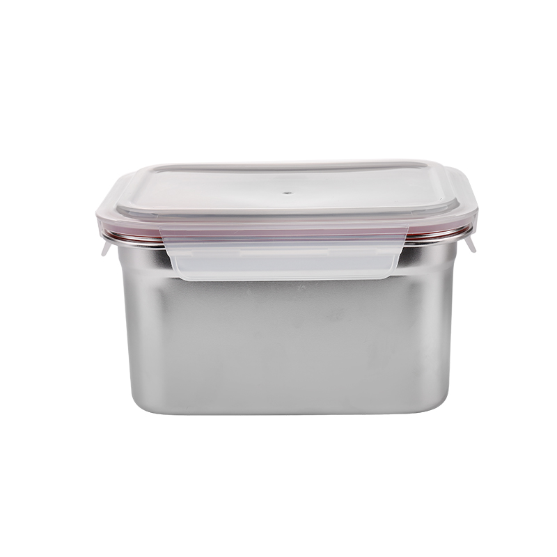 2000ml Rectangular stainless steel Food Container Lunch Box with lid