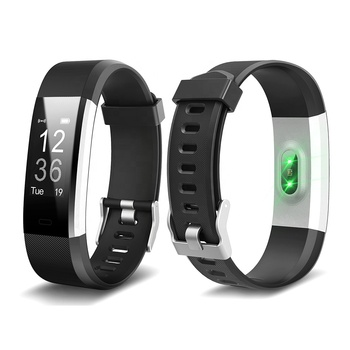 ID115 Plus HR Smart Bracelet Heart Rate Monitor ID115Plus Wristband Health Fitness Tracker
