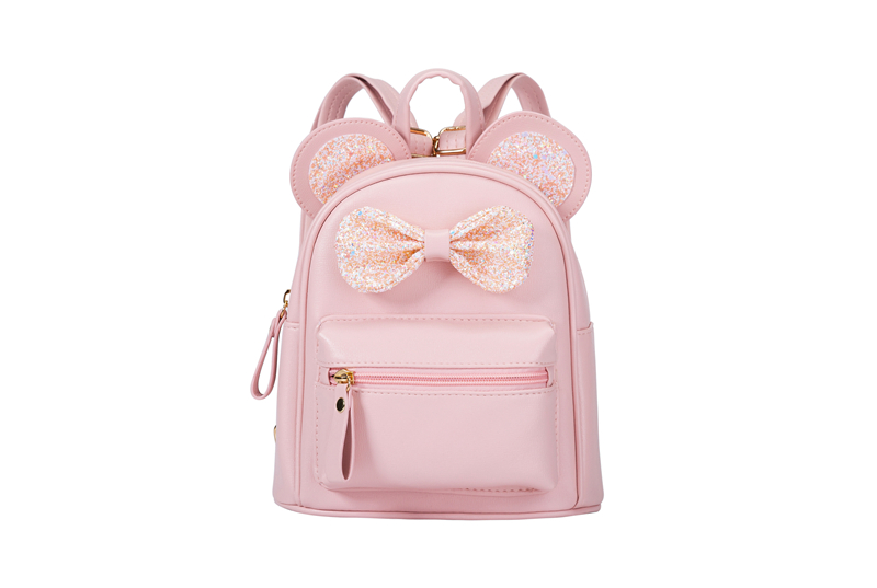 Heopono BSCI Factory Mini Cute Small Children School Book Bag PU Leather Lovely Girls Boys Preschool Backpack for Kids