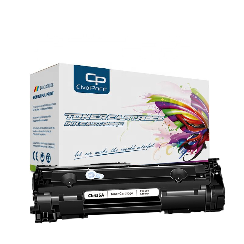 Civoprint Beat selling Black <strong>Toner</strong> Cartridge 35A CB435A Compatible <strong>P1005</strong> P1102 P1505 P1505N Laser Printer