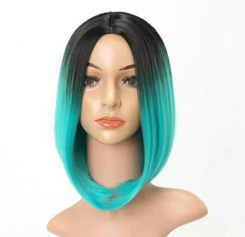 Hot selling wigs colored wig synthetic