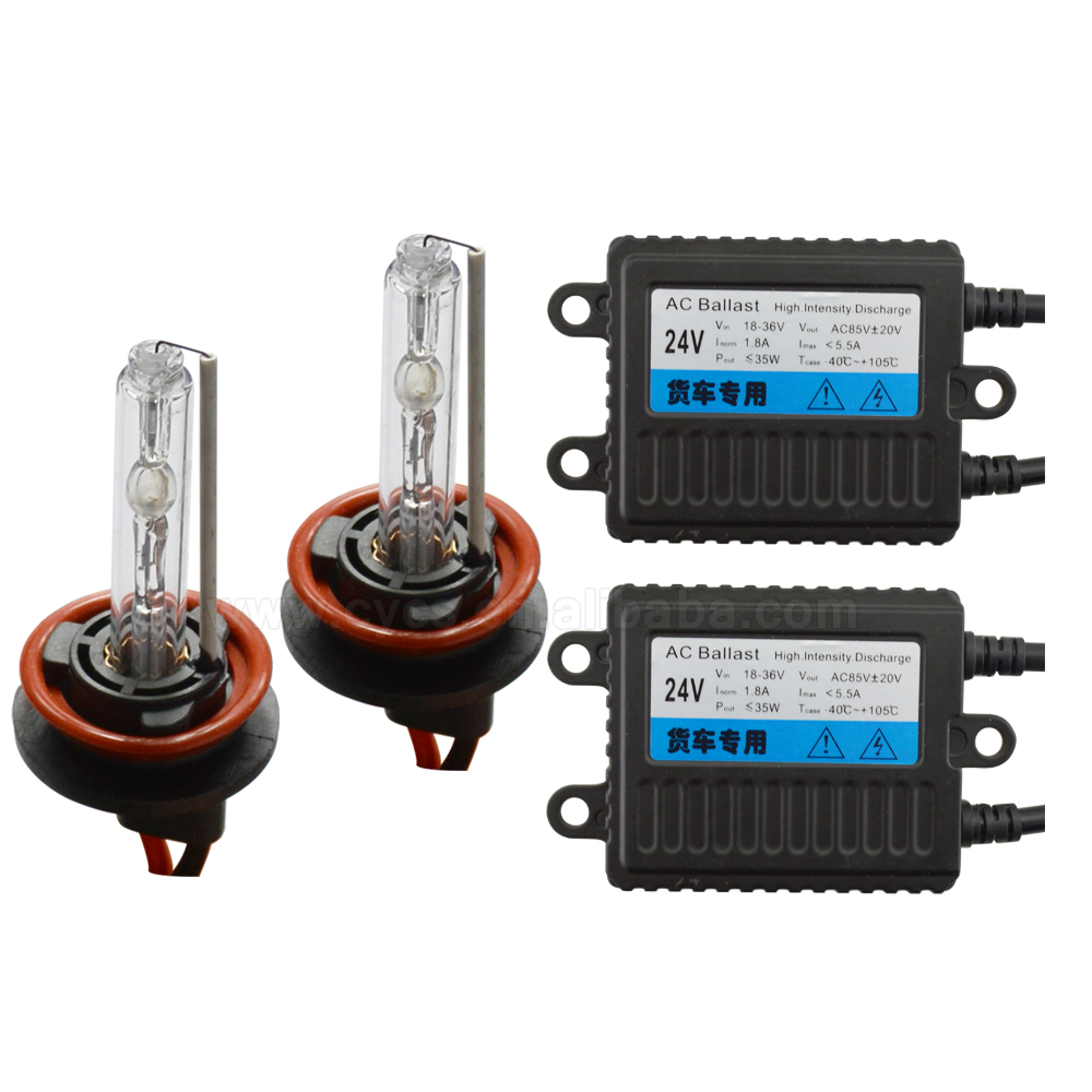 4300k 6000k 8000k 10000k 12000k 35W 24V H11 H8 H9 auto headlight xenon <strong>hid</strong> <strong>kits</strong> for trucks