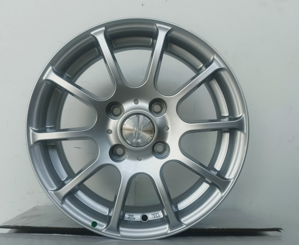 Best factory price <strong>wheel</strong> 14*5.5 inch 4x108 silver 4 holes car alloy <strong>wheels</strong>