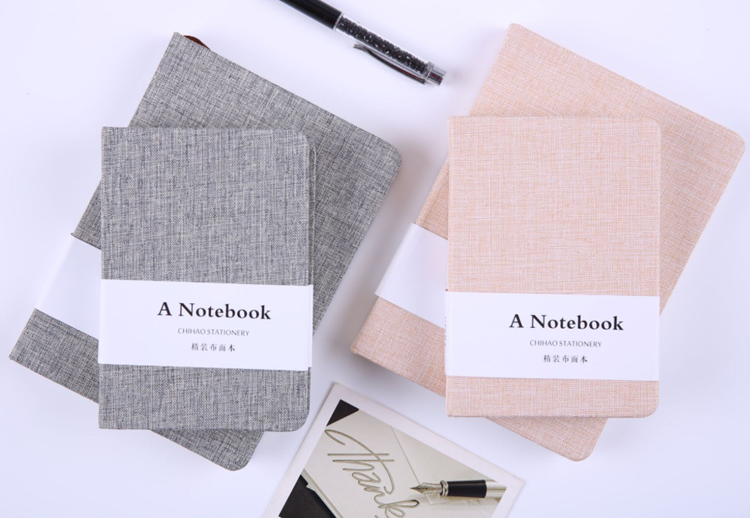 New arrival cheap bulk hard cover mini a6 small blank notebook notepad