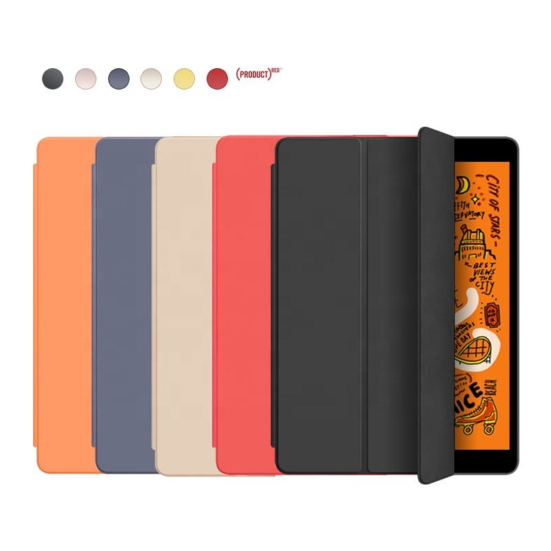 Soft Silicone Back Cover PU Leather Shockproof for New <strong>iPad</strong> 10.2 inch 2019 Tablet Case for <strong>iPad</strong> 7th Generation