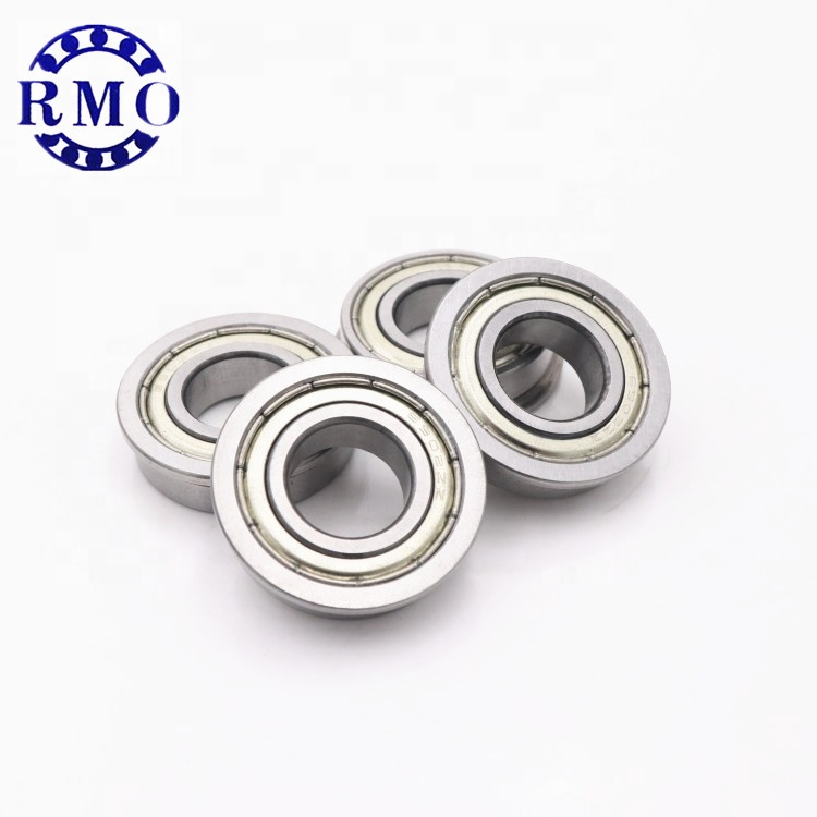 ID 13.75mm round Heavy duty bearing Flanged Radial Bearing FR8ZZ robot arm bearing