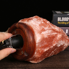 125v 75w <strong>Bulb</strong> Dark Red True Himalayan Glow Hazantree Salt Lamps
