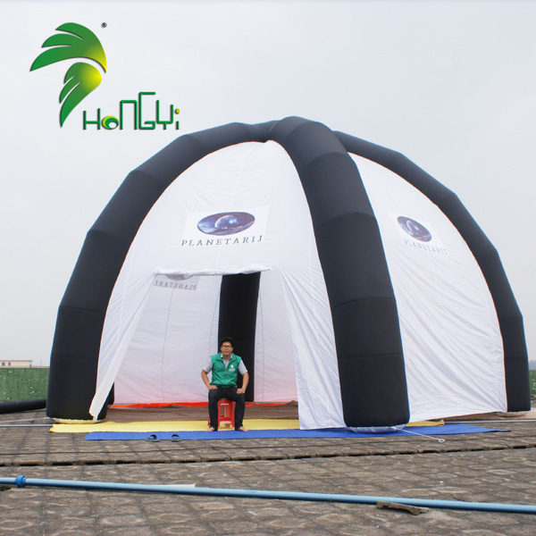 Giant Inflatable Spider Tent , Outdoor Inflatable Dome Tent For Sale