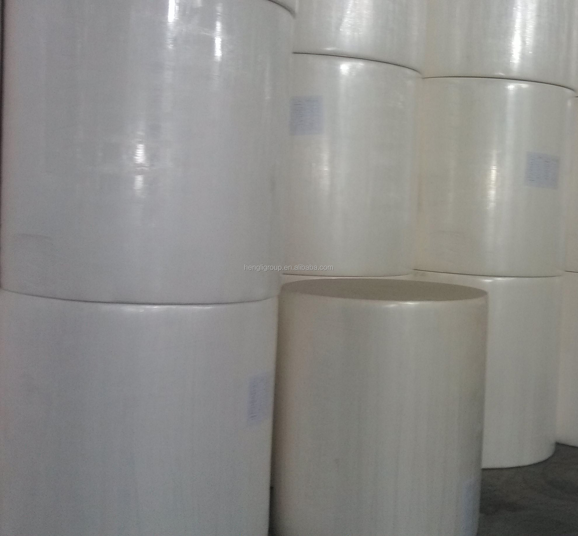 Virgin wood pulp Toilet paper jumbo roll manufacturer