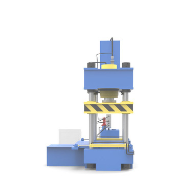 Four column type hydraulic press machine for reducer cold forming