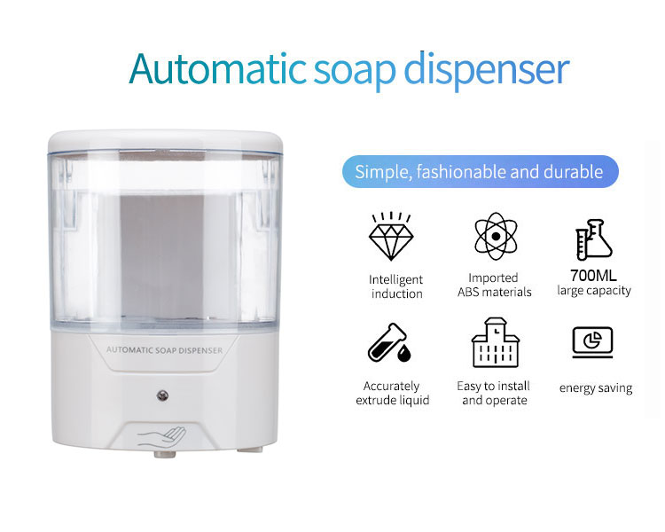 Cheap Antibacterial Gel Soap Dispenser With Auto Sensor Poster Panel
