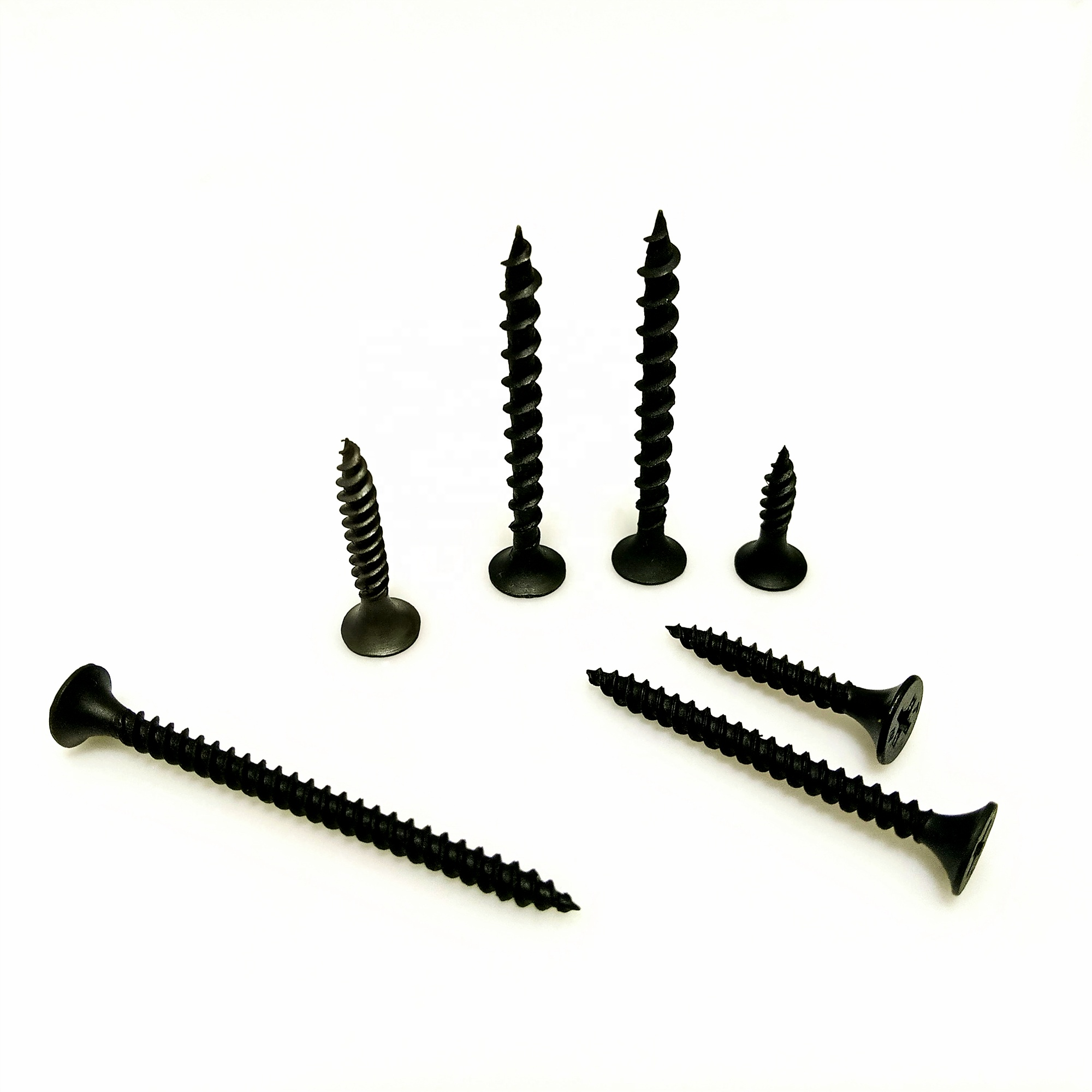 China Fastener <strong>C1022</strong> Black Twinfast Thread Big Head <strong>Drywall</strong> <strong>Screws</strong> to Metal Board