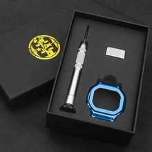 stainless steel watch bezel for G_shock watch GW-M5610 DW5600 blue color popular sell