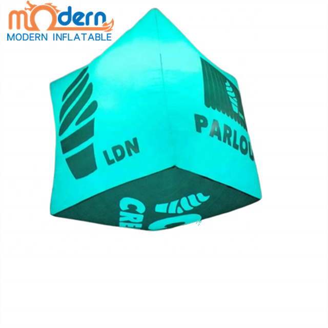 Factory direct sales Customized High quality Hanging <strong>inflatable</strong> game prop, LED giant <strong>Inflatable</strong> rubik's cube toy For Advertising