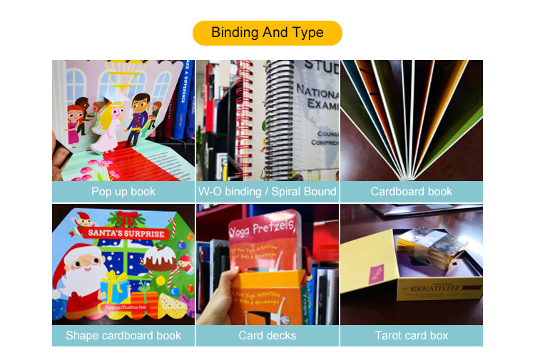 Hot-sale board  book,customized size,high quality printing service