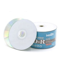 Wholesale empty cds disk recordable compact disc cdr 700mb , 80min 52x printable blank printable cd-r
