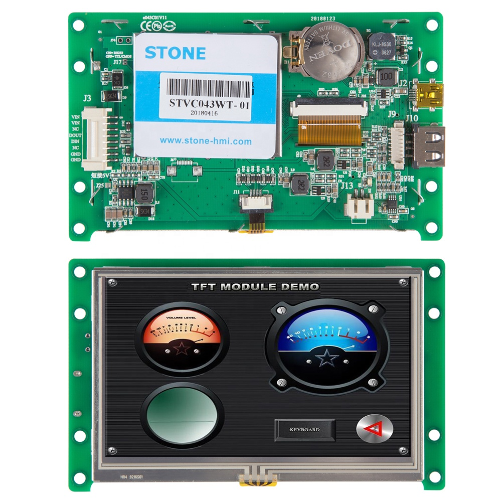 4.3 inch qvga 480x272 tft lcd ili9341with SPI interface TFT LCD Module Display <strong>w</strong>/Touch Panel