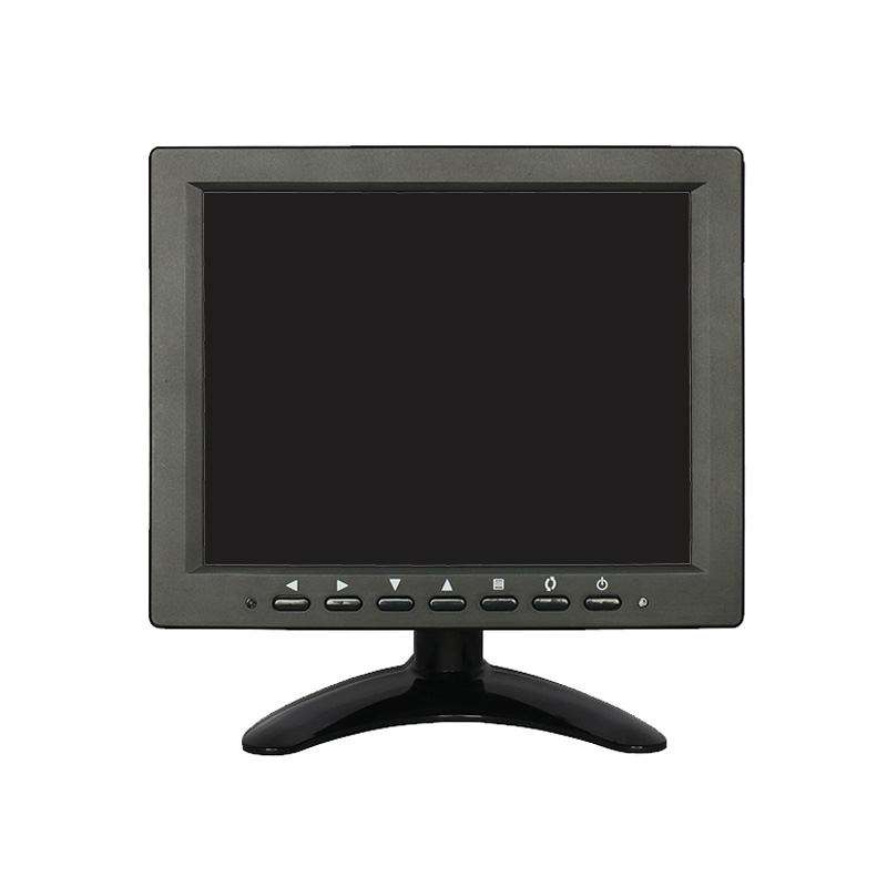 Small bnc monitor 8 inch 800*600 with multi interface