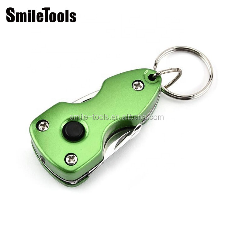 Outdoor Pocket Multi Tools Knife Key Ring Multitool With EDC Multitool For Auto Safety