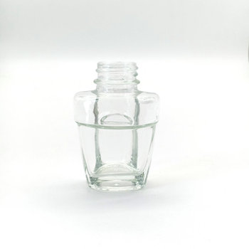 25ml Wholesale car perfume Round Flat Clear Glass Perfume Bottle Brand New Decorative Parfum Spray Bottle