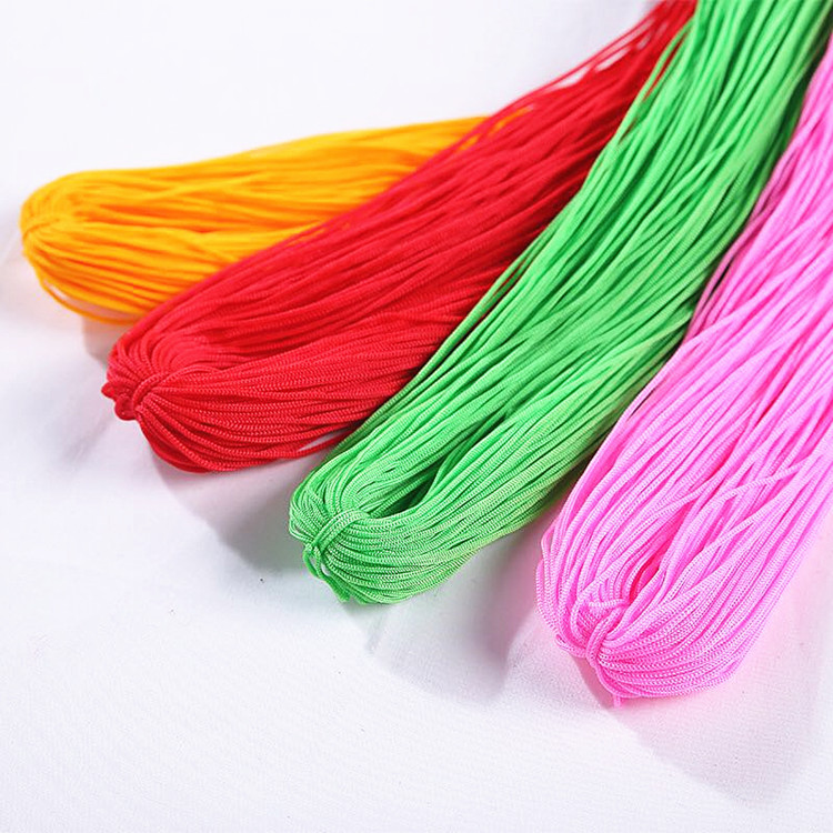 new style 100% <strong>nylon</strong> crochet special hollow ice silk yarn