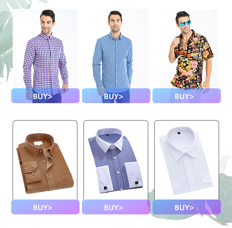 Men Wedding Shirt Long Sleeve Men Dress Shirts Man Business