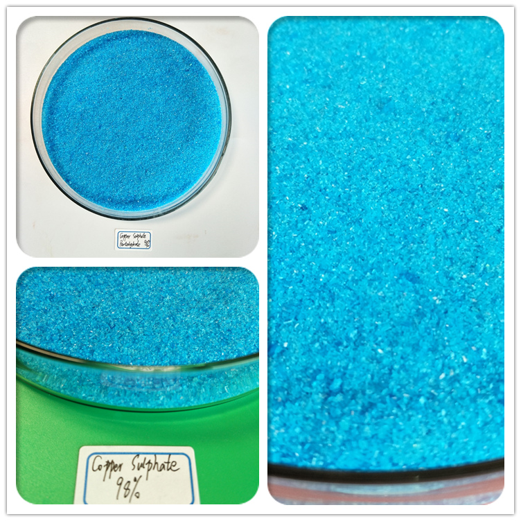 Copper SulfateBlue Crystalline Copper Sulfate Granules Or Powder