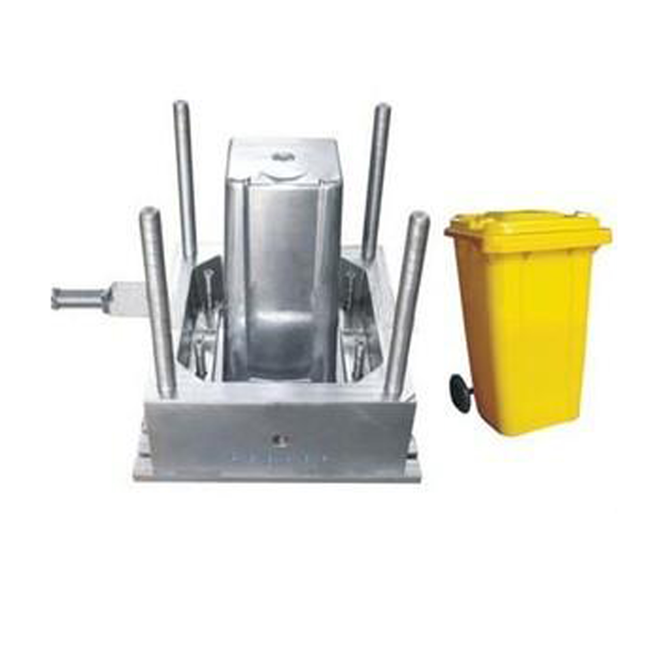 hot sell high quality trash can mold plastic <strong>injection</strong>, plastic pp hdpe big Trash bin box mould