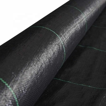 Geotextile Fabric  Agricultural Plastic Ground Cover / UV Treated Durable Weed Barrier Landscape Fabric for Garden