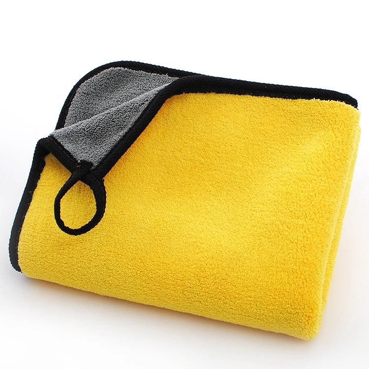 China 800GSM 40*40cm car washing clean microfiber <strong>towel</strong>