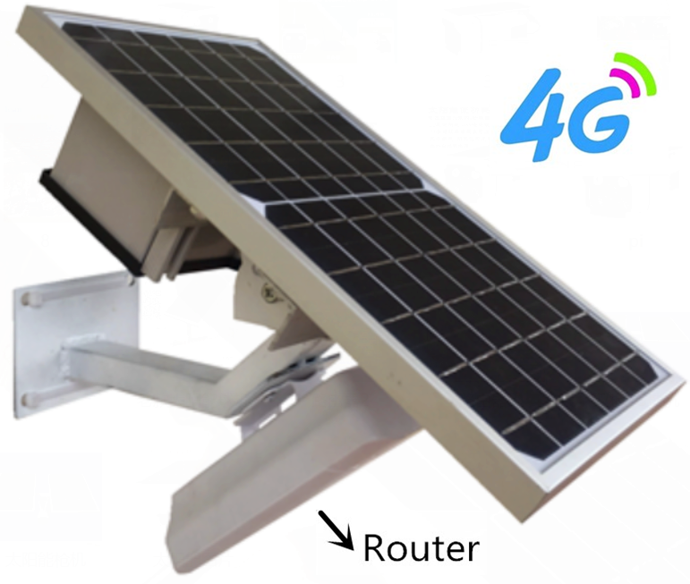 Factory Wireless Wifi 4G Router with Solar Power 10W Panel 10Ah <strong>Battery</strong> SIM Card Slot/Dual Sim 4G Lte Router Wireless Router 4G