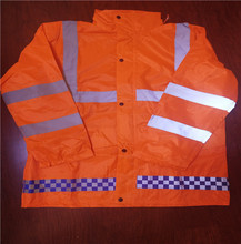 high visibility traffic reflective <strong>safety</strong> pvc raincoat set suit