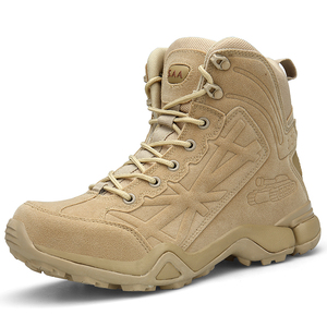 Army Military Boots Mens' Ultra-Light Combat Boots Military Tactical Work Boots