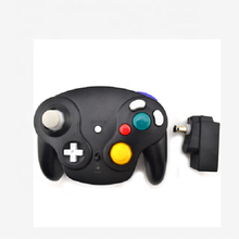 2.4GHz Wireless Game Controller Gamepad for Nintendo N GC gamecube for <strong>Wii</strong> Black