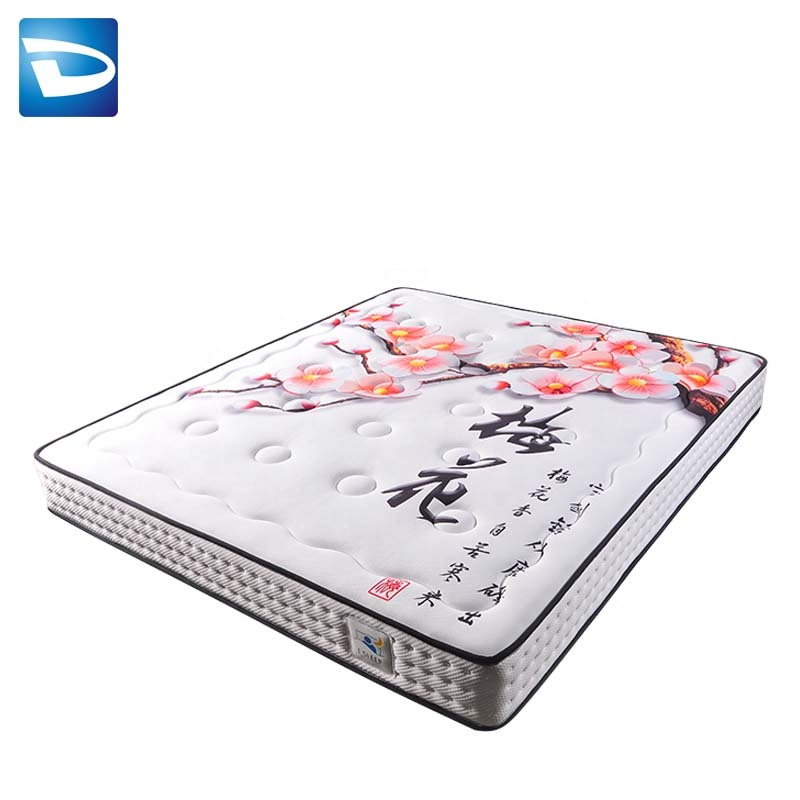 Dingsheng New products Anti mite Upholstered Mattress with Cover - Jozy Mattress | Jozy.net