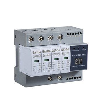 High quality low voltage In 40ka Intelligence 280v general electric type ac 3 phase Surge Protective Device SPD