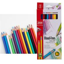 Promotion 12 Colors Water-Soluble Watercolor Pencils Safe Non-Toxic <strong>Colored</strong> Pencils