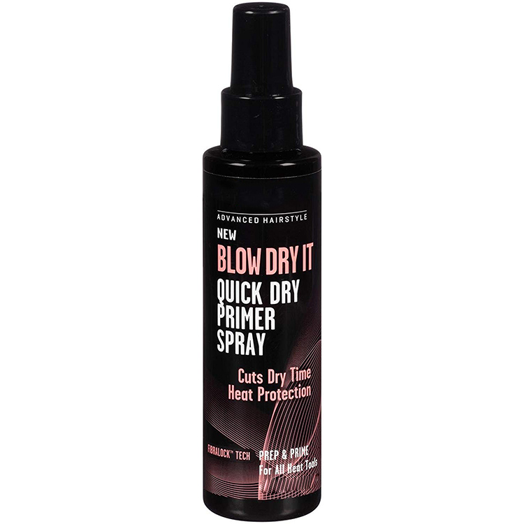FDA approved Advanced hair heat protectant spray Quick Dry heat protection hair spray