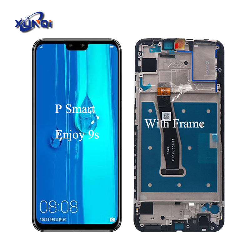 <strong>100</strong>% Tested well <strong>P</strong> Smart 2019 with frame lcd display assembly for For Huawei Enjoy 9s POT-AL00a POT-TL00a LCD Screen