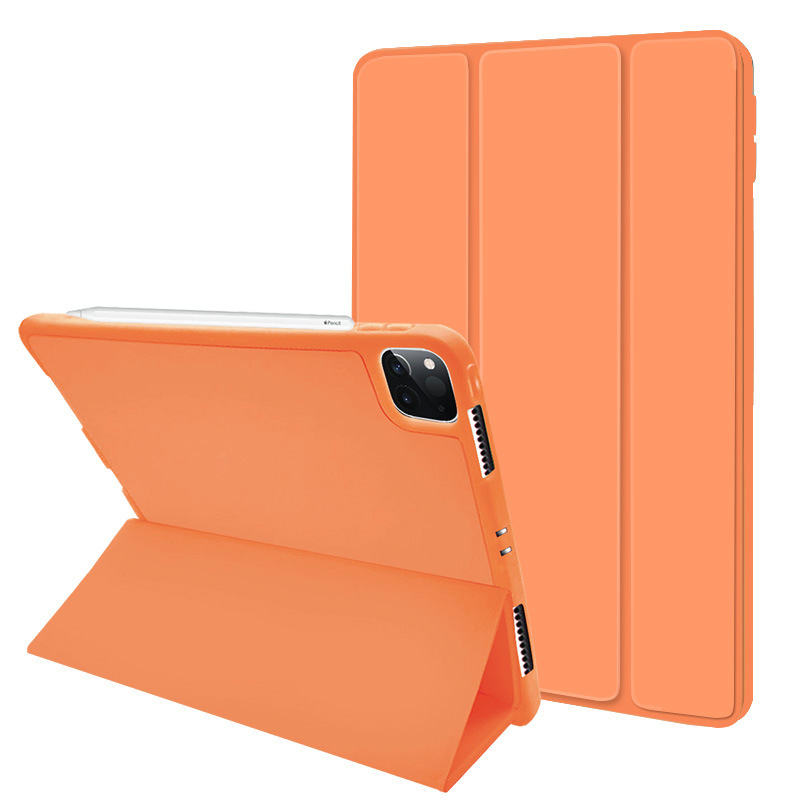 Trifold Flip Case Cover for <strong>iPad</strong> 9.7 2017/2018, for <strong>iPad</strong> Air 3, 10.2 Pro 11 2020 with Pencil Holder, Soft Flexible Back Cover