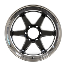 Factory direct selling 6 spoke car rims 18 inch 6 x 139.7 aluminum alloy casting car <strong>wheels</strong>