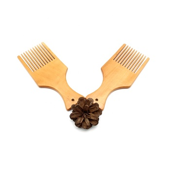 Professional laser make your own hair pick afro comb