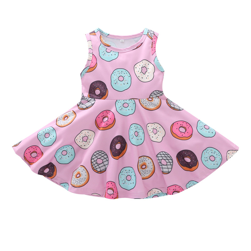 2020 new kids cheap dresses children clothes girl dresses wholesale baby beach korean style cheap dresses